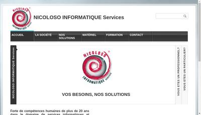 Site internet de Nicoloso Informatique