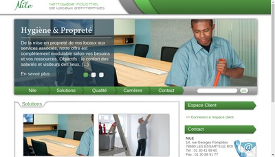 Site internet de Cp Nettoyage