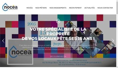 Site internet de Nocea Artois Proprete et Services