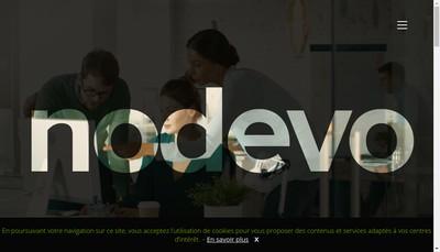 Site internet de Nodevo