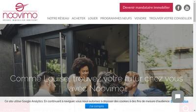 Site internet de Noovimo
