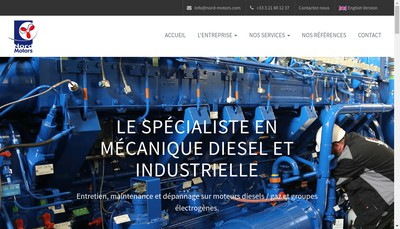 Site internet de Nord Motors