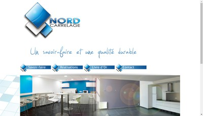 Site internet de Nord Carrelage
