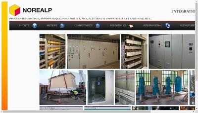 Site internet de Norealp Aquitaine