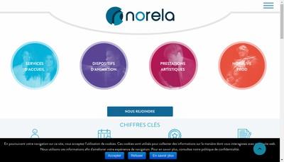 Site internet de Norela