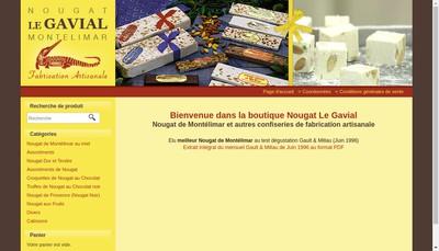 Site internet de Nougat le Gavial