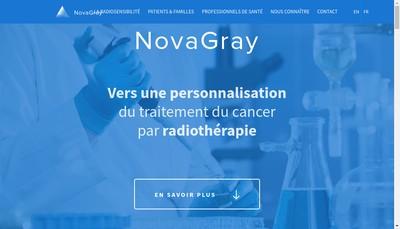 Site internet de Novagray