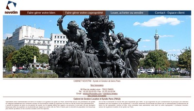 Site internet de Novotim