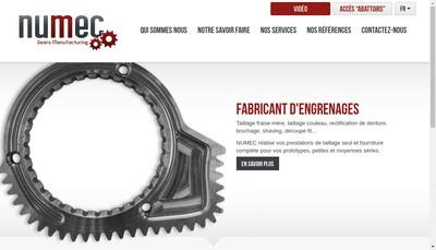 Site internet de Numec