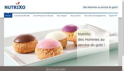Site internet de Nutrixo