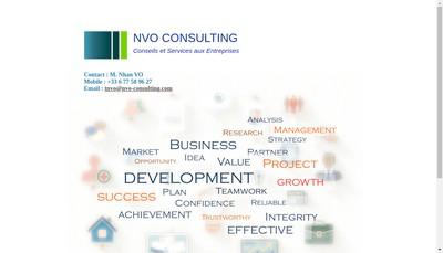 Site internet de Nvo Consulting