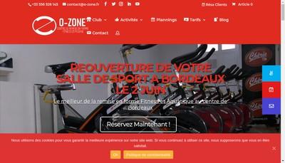 Site internet de O-Zone