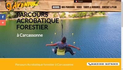 Site internet de SARL O2 Aventure