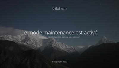 Site internet de Obohem