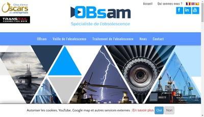 Site internet de Obsam