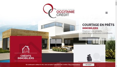 Site internet de Occitanie Credit