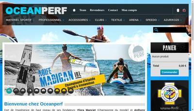 Site internet de Oceanperf