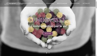 Site internet de Oenodyssee