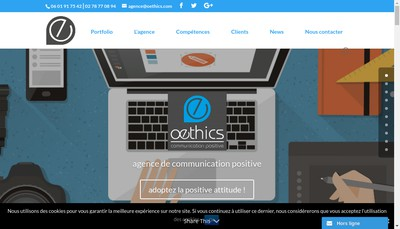 Site internet de Simtim Eco-Communication