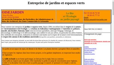 Site internet de Oisejardin