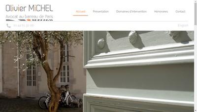Site internet de Olivier Michel