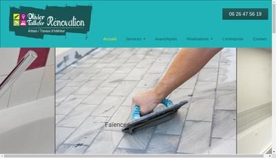 Site internet de Olivier Taillefer Renovation