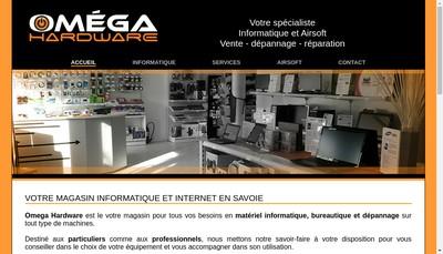 Site internet de Omega Hardware