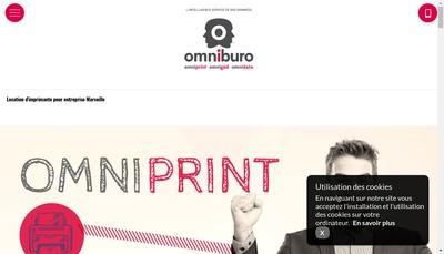 Site internet de Omniburo