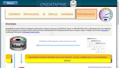 Site internet de Ondatafine