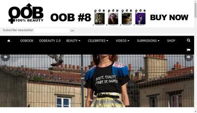 Site internet de Oob Company