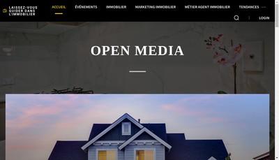 Site internet de Agence Immofab