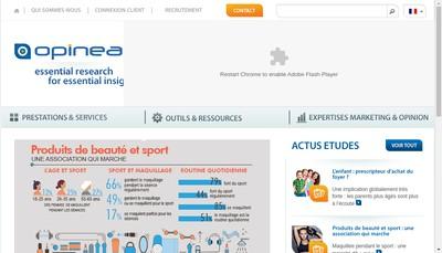 Site internet de Opinea