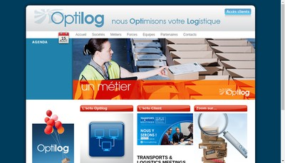 Site internet de Optilog