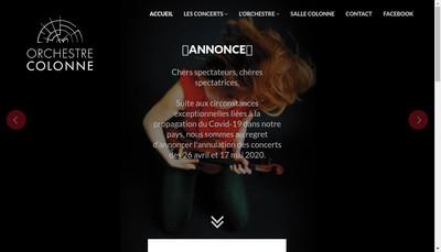 Site internet de SCOP Orchestr Colonne