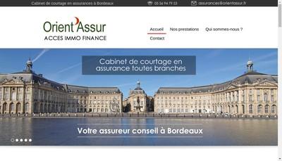Site internet de Orient'Assur