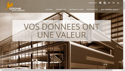 Site internet de ORONE DATA SERVICES