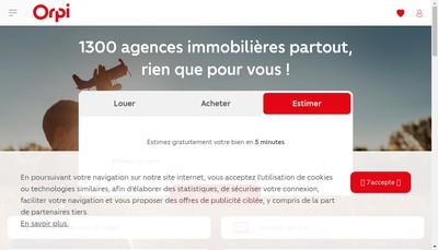 Site internet de Gesim Transac
