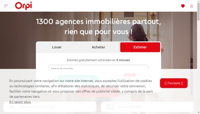 Site internet de Agence Guernet