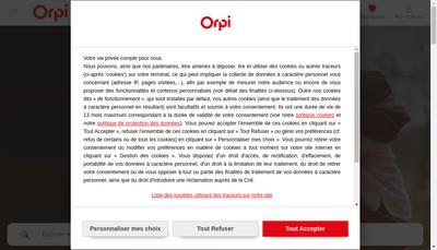 Site internet de Agence du Beffroi