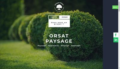 Site internet de Philippe Orsat