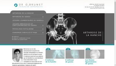 Site internet de Oceane Brunet