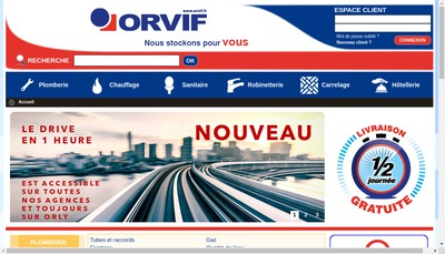 Site internet de Orvif