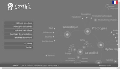 Site internet de Orythie