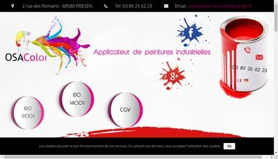 Site internet de Osa Color SAS