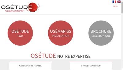 Site internet de Osetude