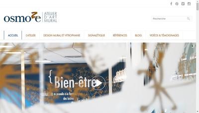 Site internet de Atelier Design Mural