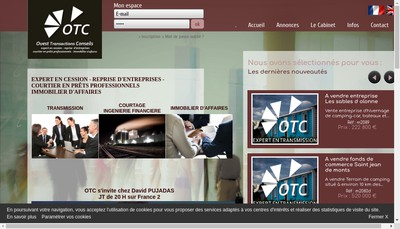 Site internet de Cabinet OTC