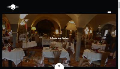 Site internet de L'Ours des Roches