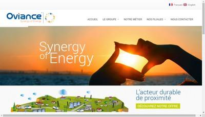 Site internet de Oti France Services