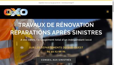 Site internet de Oxo